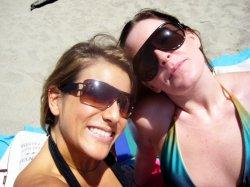 Hil & I in Santa Cruz, 2008.