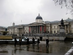 National Gallery in Winter